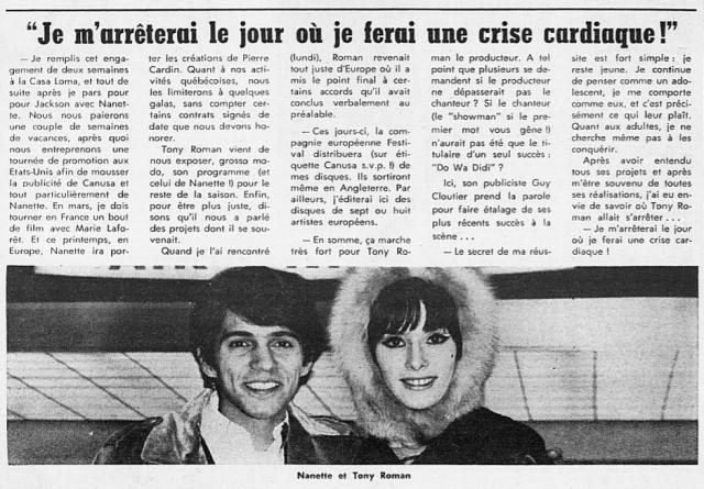 Petit Journal, mars 1967.