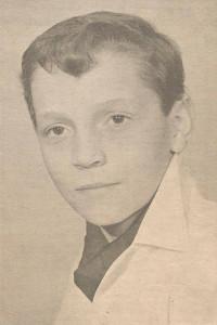 Première photo professionnelle de Brouillard à 12 ans. Merci à Serge Blanchette pour la numérisation.