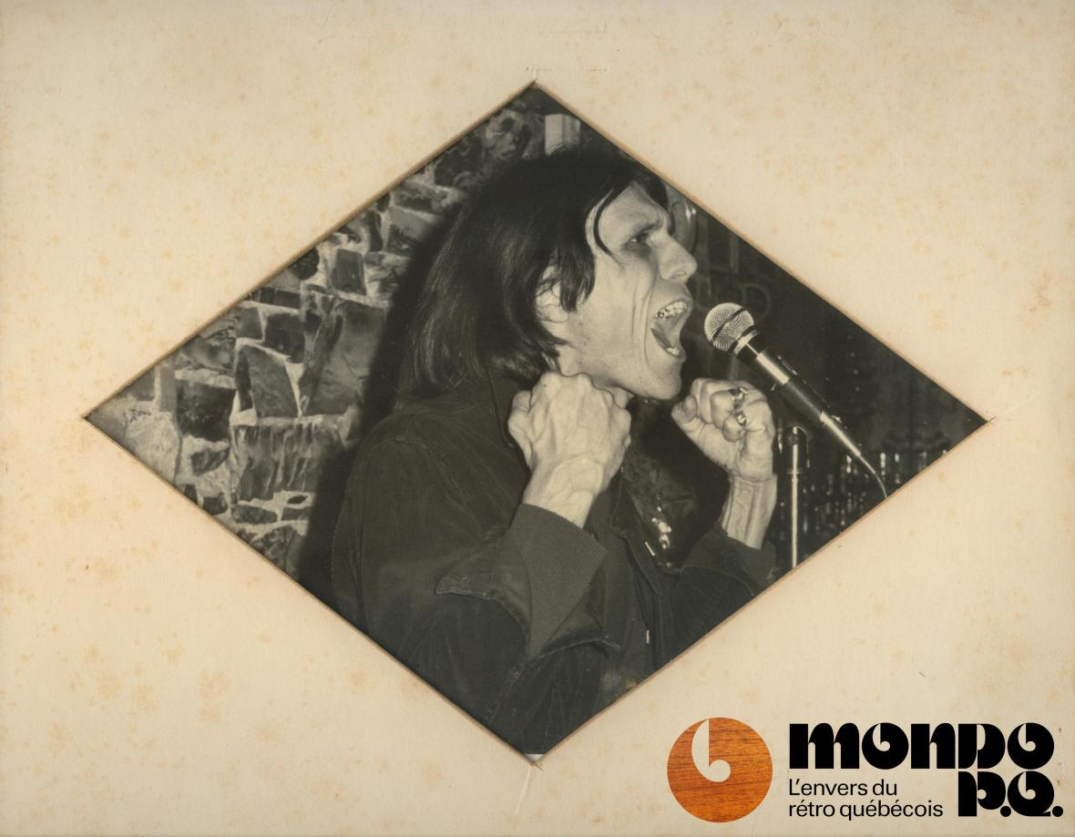 Serge Mondor durant les années 70.