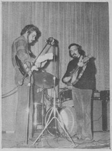 Marc Lebel & René Dupéré, septembre 1970.