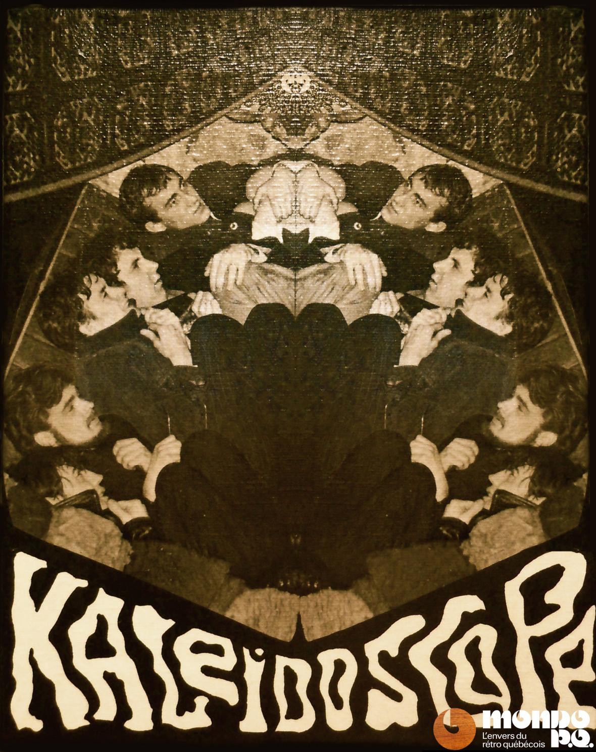 Le Québec a aussi eu son groupe nommé Kaléidoscope (Collection personnelle G. Rhéaume).