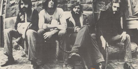 Les Sinners de 1970-71: Arhur Cossette, Alain Jodoin, Louis Parizeau, Parenteau.