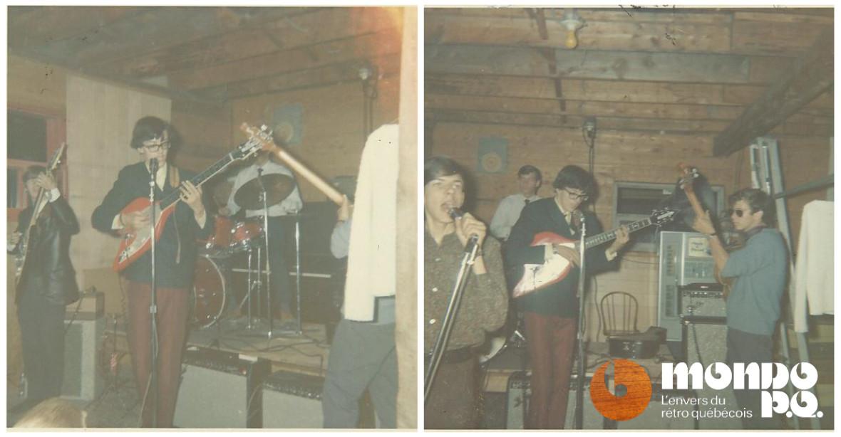 Les Ekos en 1966.