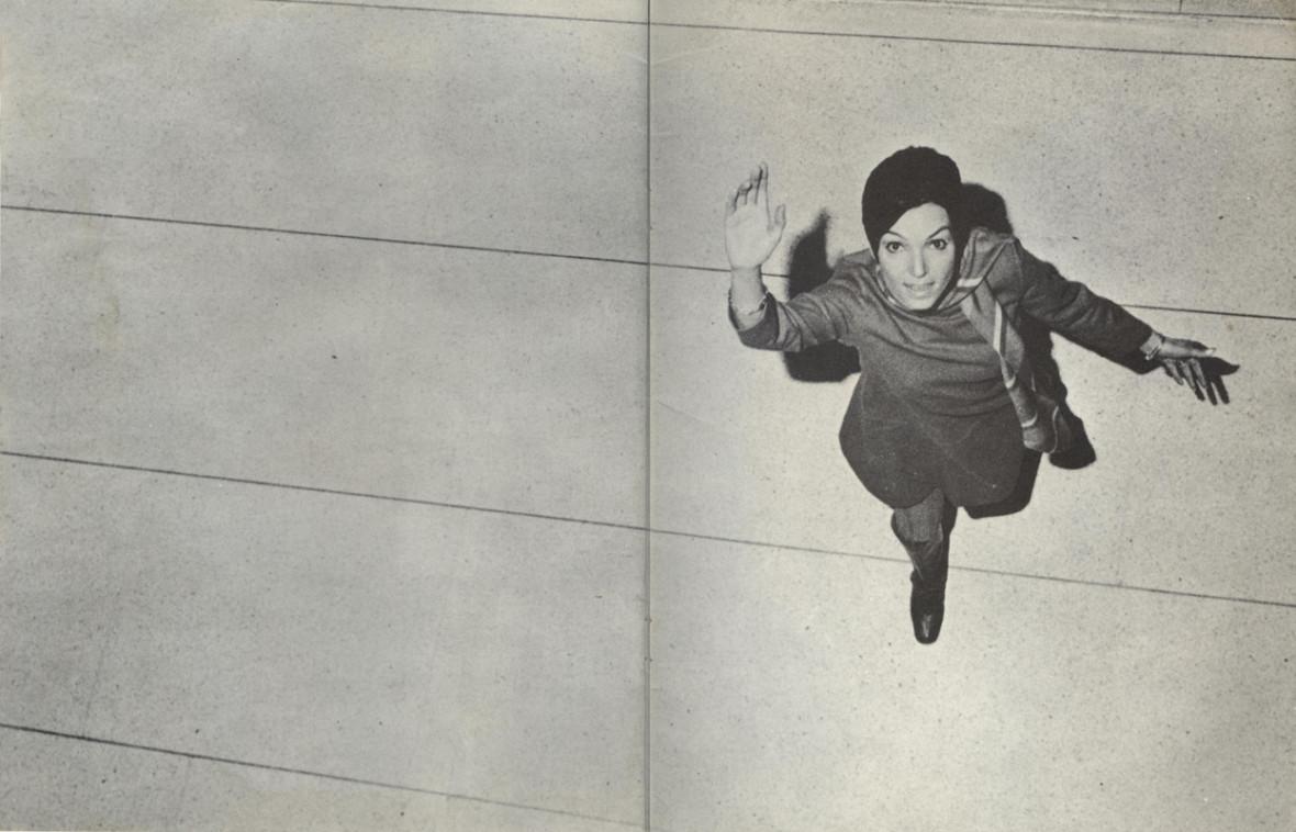 Monique Leyrac, 1968.