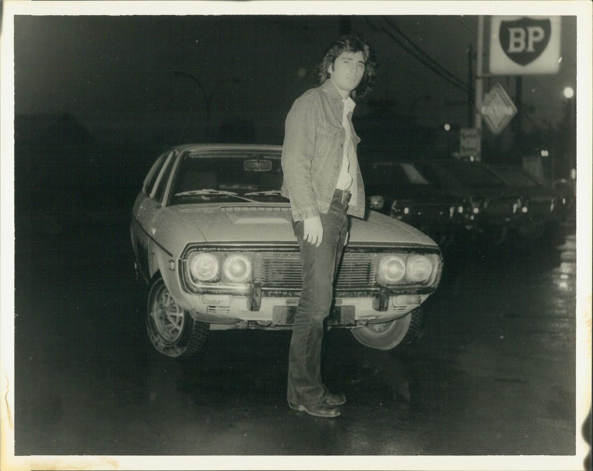 Steve Fiset et... une Camaro (PHOTO: Roland Lahcnace).