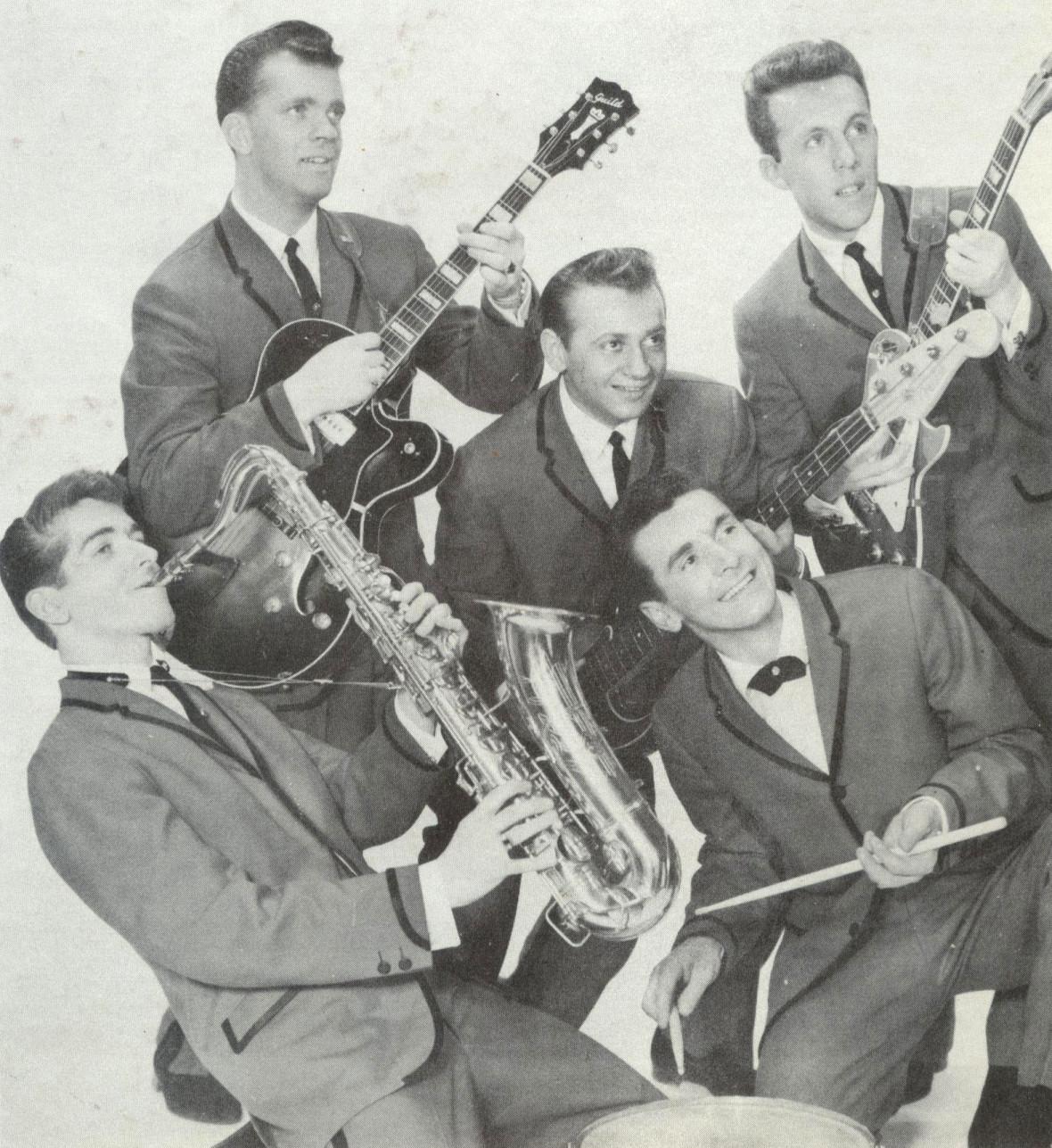 Johnny James & his Invictas.
