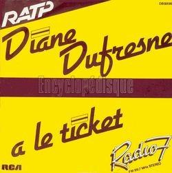 Pressage français de «Suicide» pour Diane Dufresne.