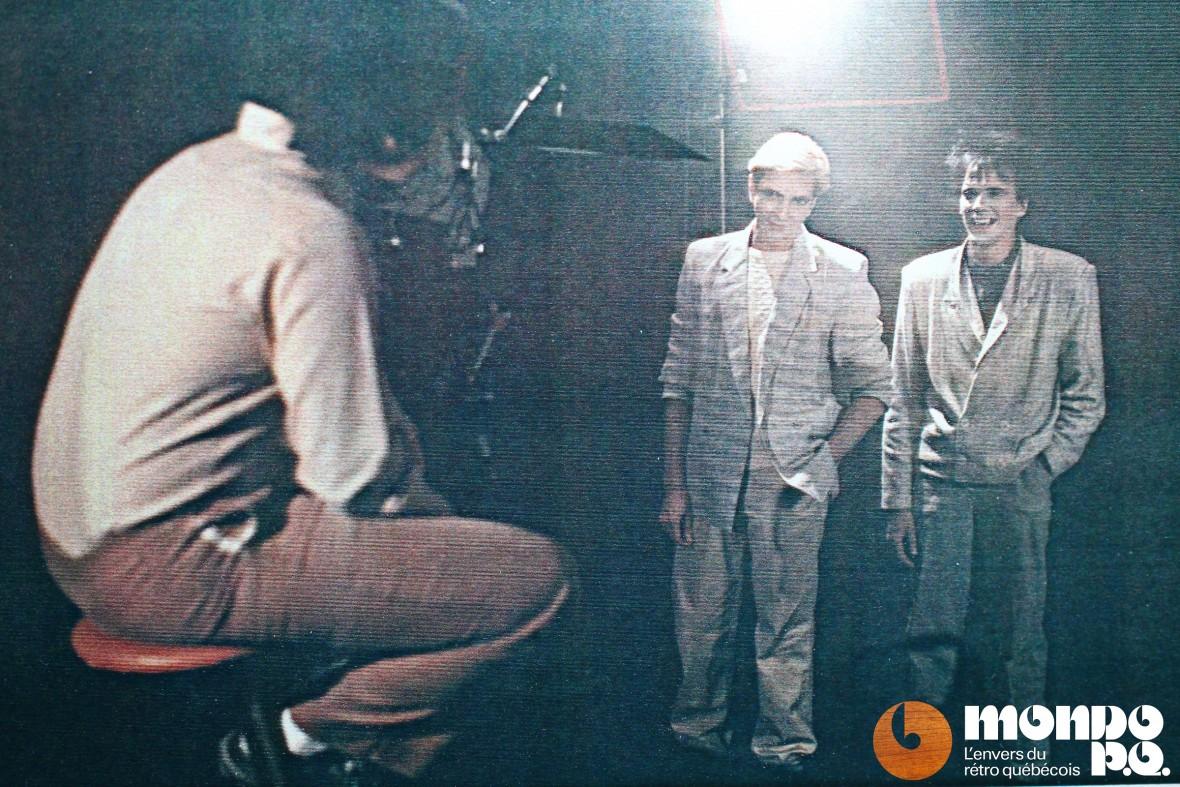 Tournage du vidéoclip de «Mr Nuke is a fool», 1986.