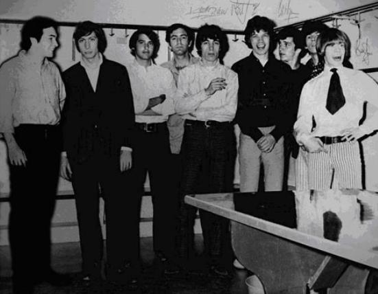 Bartholomew Plus Three & The Rolling Stones, au Forum de Montréal en 1965.