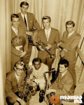 The Fabulous Vikings avec Bill Gagnon (à droite) en 1963.