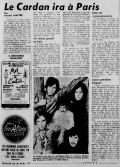 La Patrie, mars 1969.