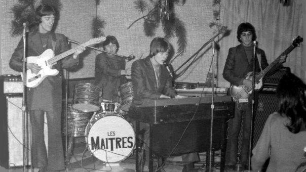 Les Maîtres, vers 1967 (Collection Michel Vallée).