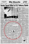 The Gazette, 31 janvier 1968.