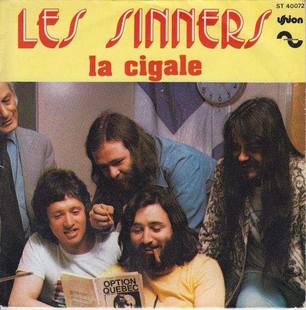 """Pressage français de """"La cigale""""."""