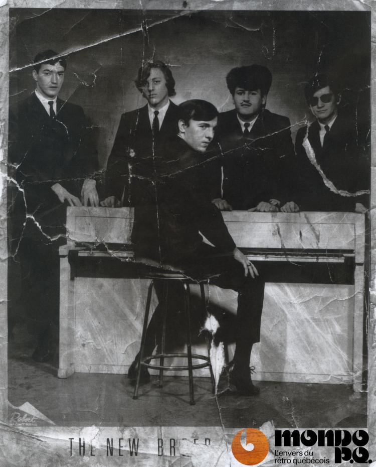 The New Bredd vers 1965 (Ovila Blais est premier sur la gauche).
