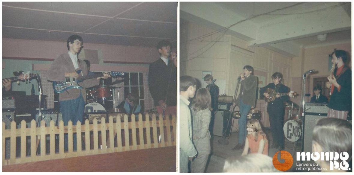 Les Ekos, vers 1967.