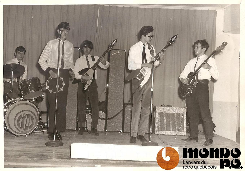 première photo des Ékos Septembre 1965 copy