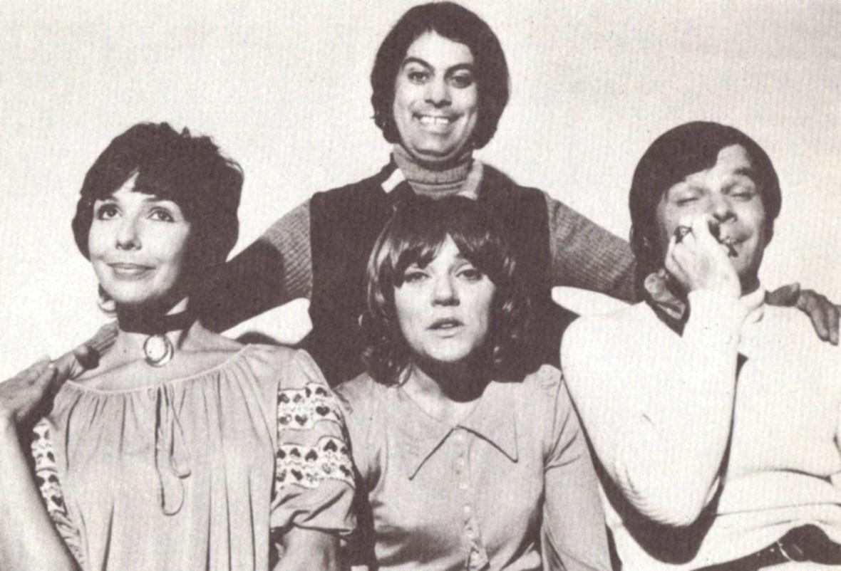 La Belle Amanchure: Françoise Lemieux, René Angélil, Clémence Desrochers & Pierre Labelle (1970).