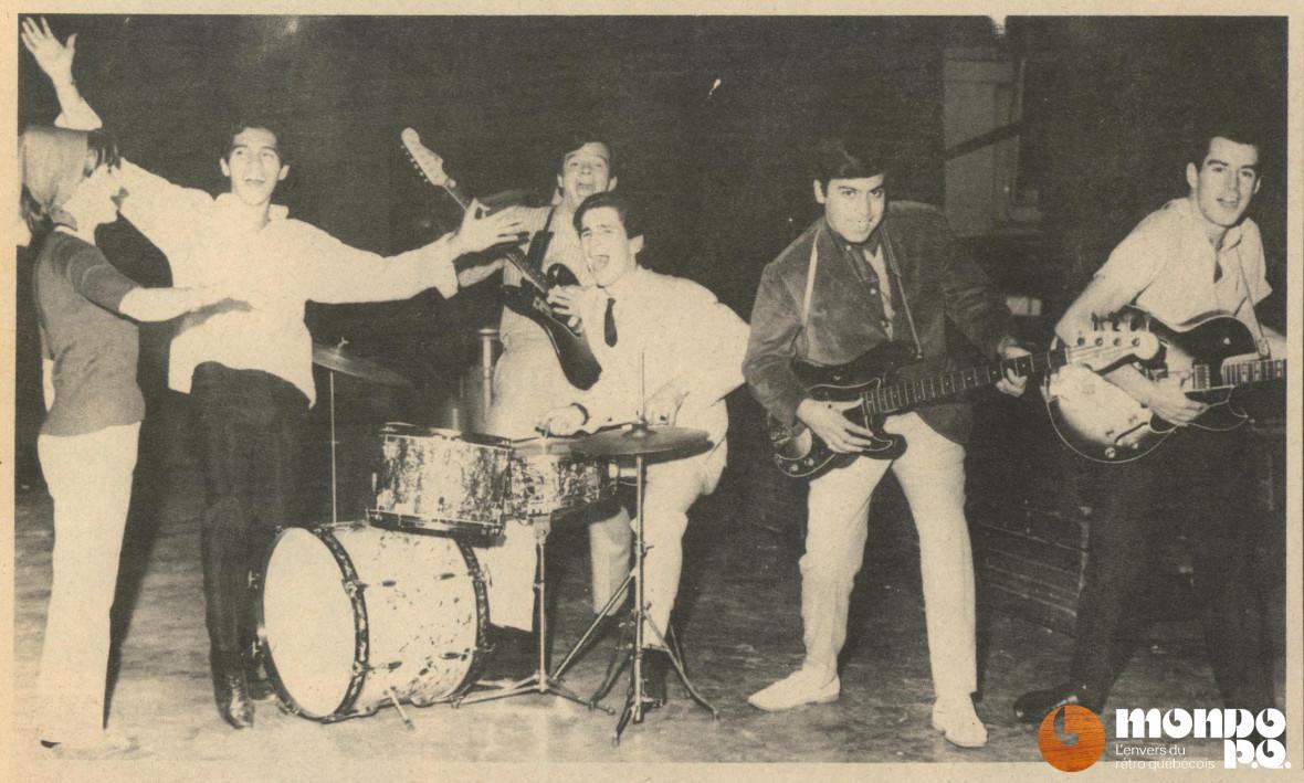 (Photo Vedettes, 15 août 1964)