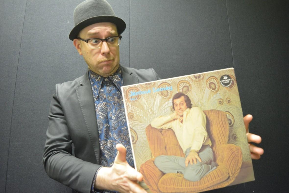 Certainement pas la plus réussies des pochettes pour un album de Jérôme Lemay!