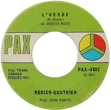 Rodier-Gauthier - L'herbe