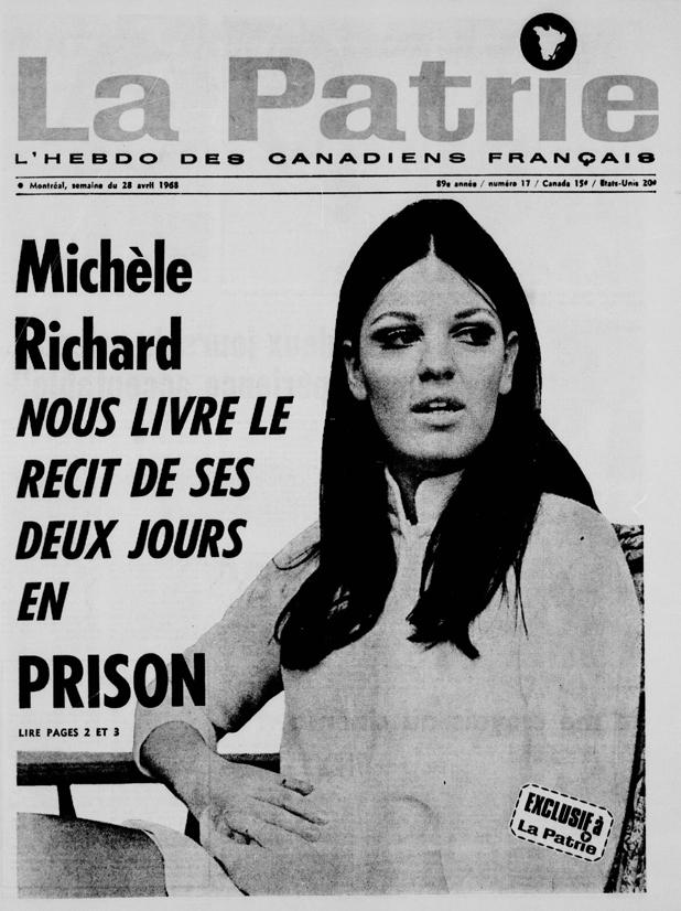 Comme Gainsbourg, Michèle «Bonnie» Richard n'était pas étrangère aux scandales!