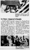 Petit Journal, octobre 1970.