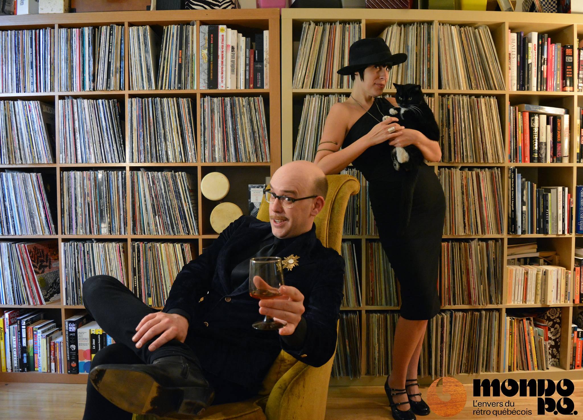 Avec Mimi la twisteuse en 2014.
