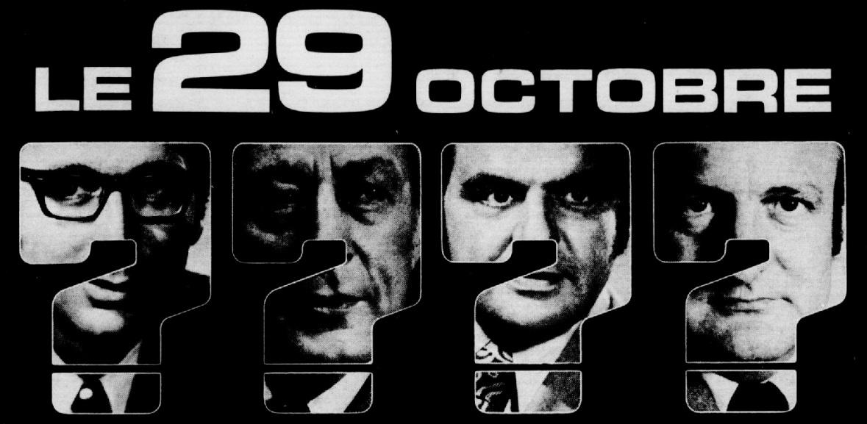 Publicité tirée du journal La Patrie, octobre 1973.