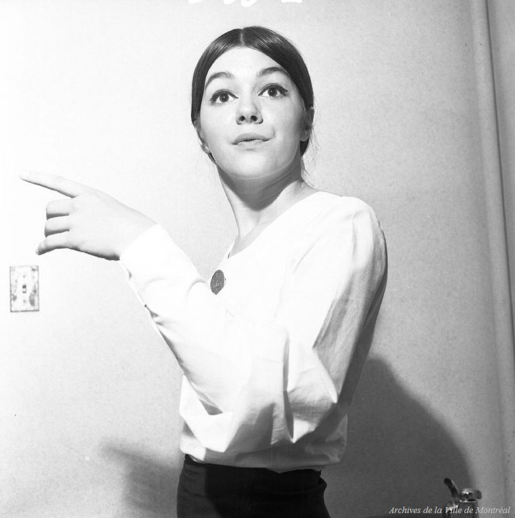 Ginette Bellavance, 1965 (Archives de Montréal).